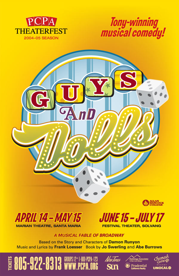 Guys & Dolls, 11 x 17 in., 2005