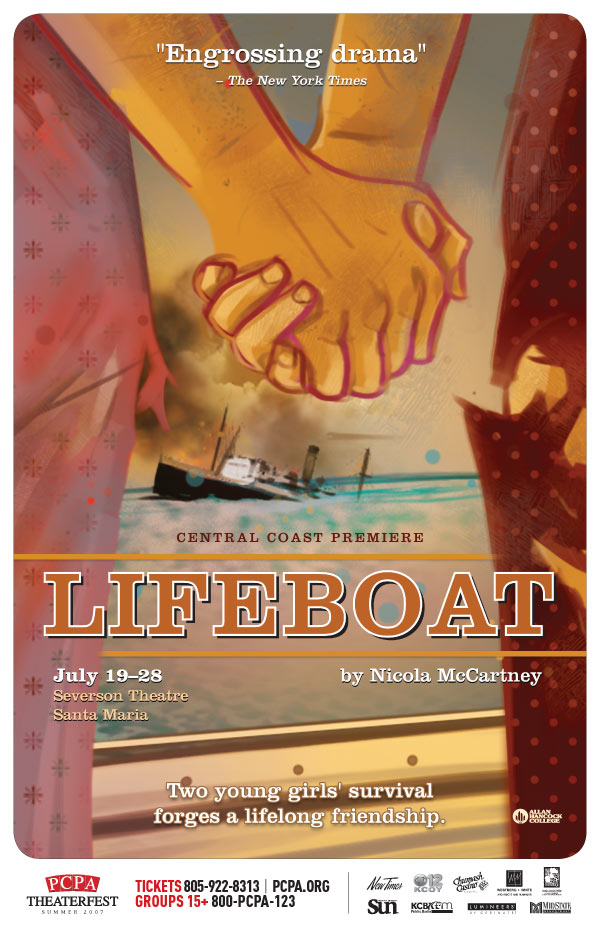 Lifeboat, 11 x 17 in., 2007