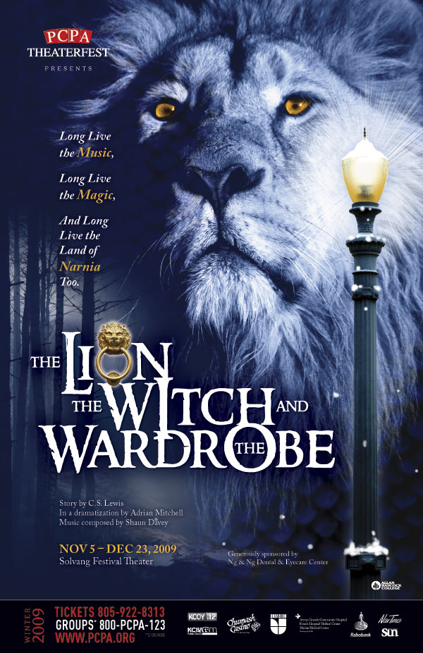 The Lion, The Witch & The Wardrobe, 11 x 17 in., 2009