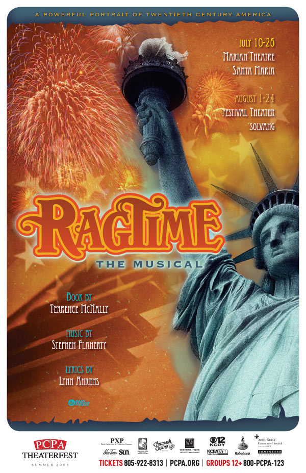 Ragtime, 11 x 17 in., 2008