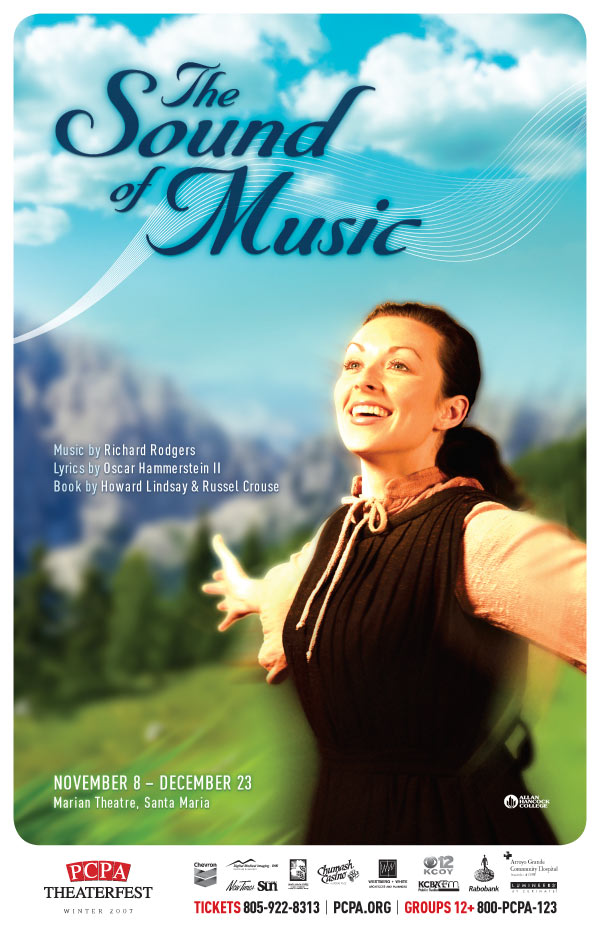 The Sound of Music, 11 x 17 in., 2008