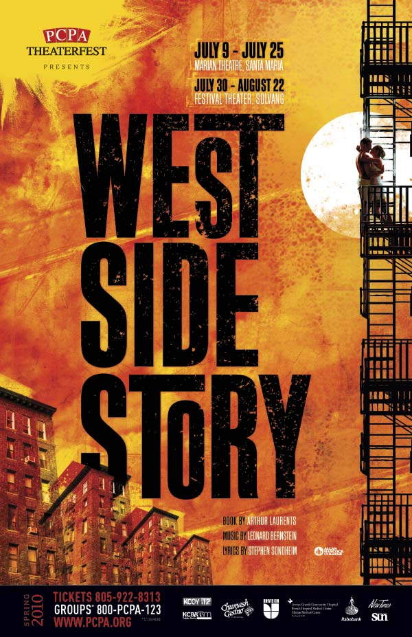 West Side Story, 11 x 17 in., 2009