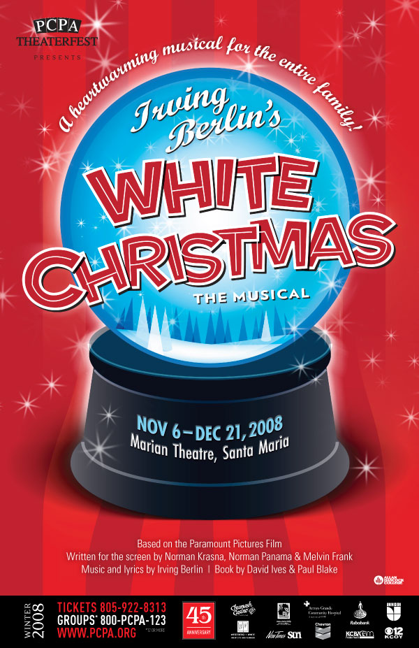White Christmas, 11 x 17 in., 2008